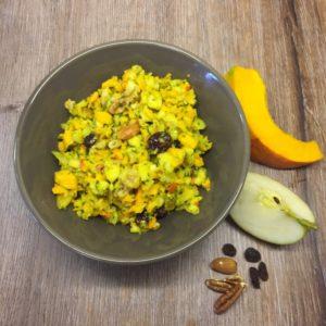 Kürbis Mango Salat