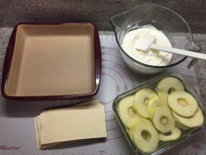 Apfel Lasagne aus der Ofenhexe